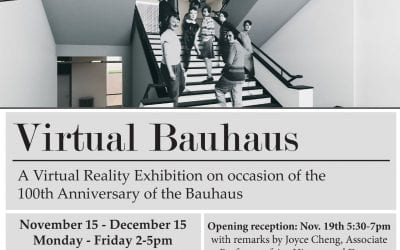 Virtual Bauhaus: Explore the Bauhaus School of Art & Design with Virtual Reality!