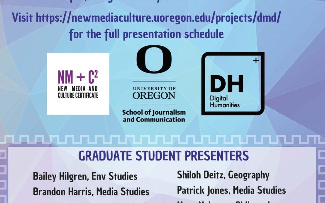 2nd Annual Data /Media/ Digital Graduate Symposium 2/28/20