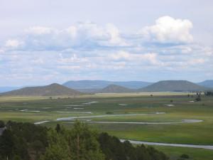Sprague River floodplain and Council Butte