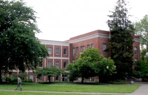 The InfoGraphics Lab is housed in the Department of Geography, Condon Hall