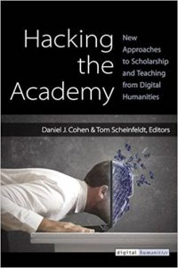 An image of the cover of Hacking the Academy.