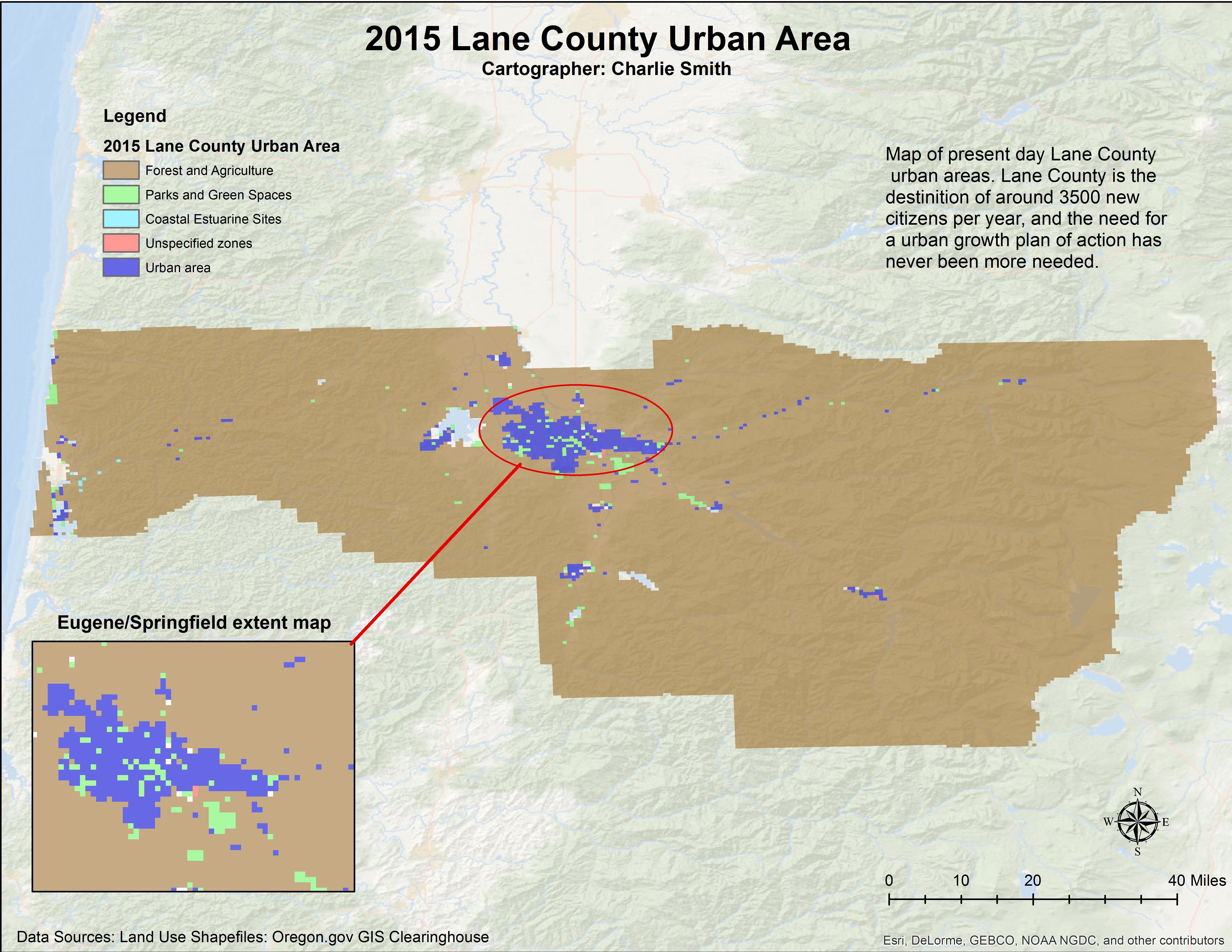 GIS II Final Project: Projecting Urban Growth Scenarios