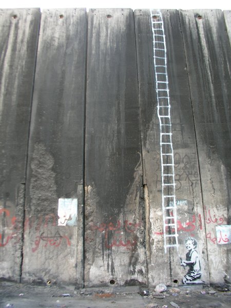 Escapism Banksy In Palestine