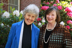 Picture of Sally Gearhart and Carla Blumberg