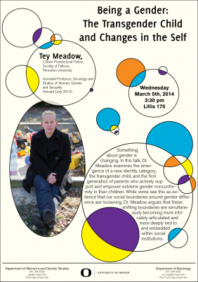 Poster for Tey Meadow lecture