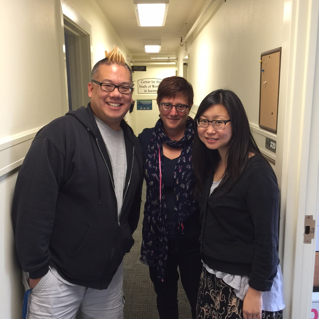 Photo of Drs. Chang, Rhee and Stabile