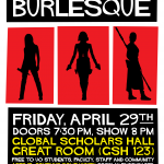 Poster for Bechdel Test Burlesque