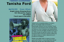 Flyer for Tanisha Ford talk