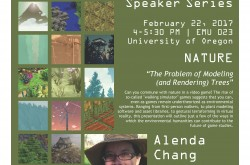 Image of Alenda Chang lecture event poster