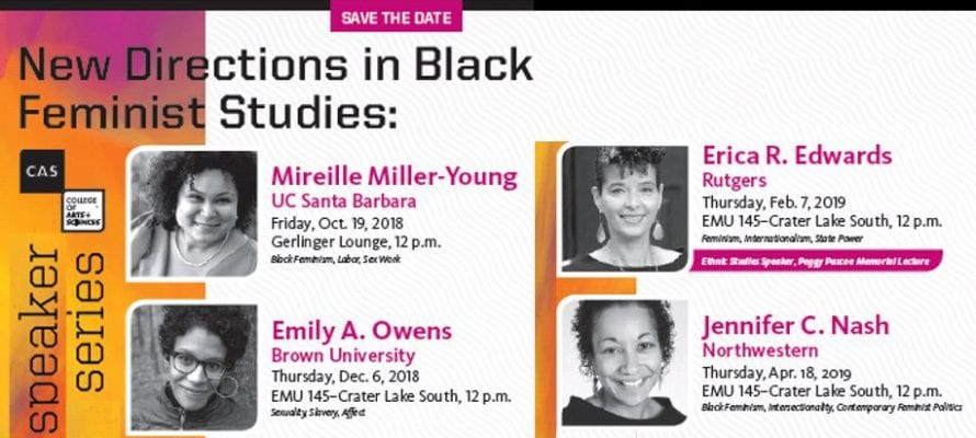 New Directions in Black Feminist Studies Speaker Series