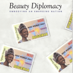 Book cover of the book Beauty Dipomacy: Embodying an Emerging Nation