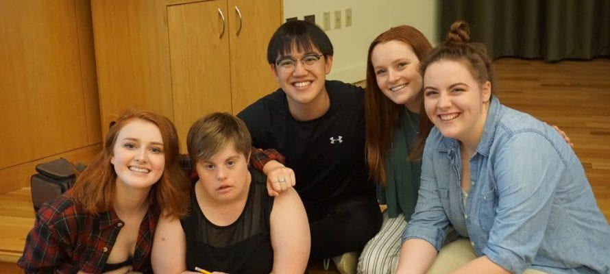 Students in DS/ENG 399, Living Theater