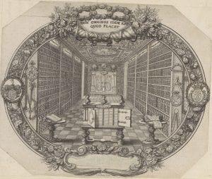 Ex libris of Z. C. von Uffenbach.