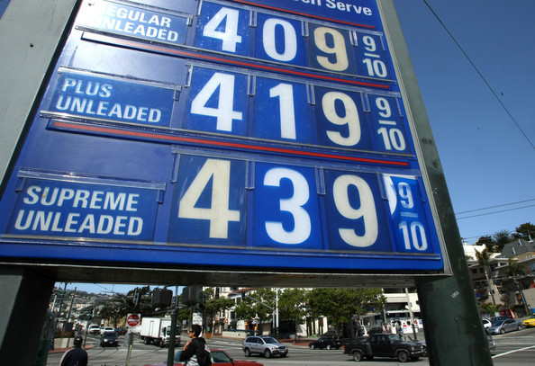 Gas Prices in Eugene High