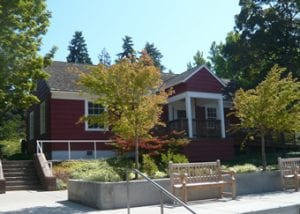 little red schoolhouse building