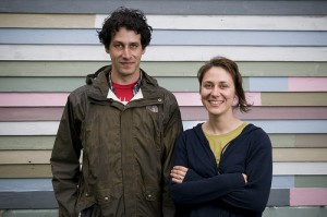 Gina Reichert and Mitch Cope