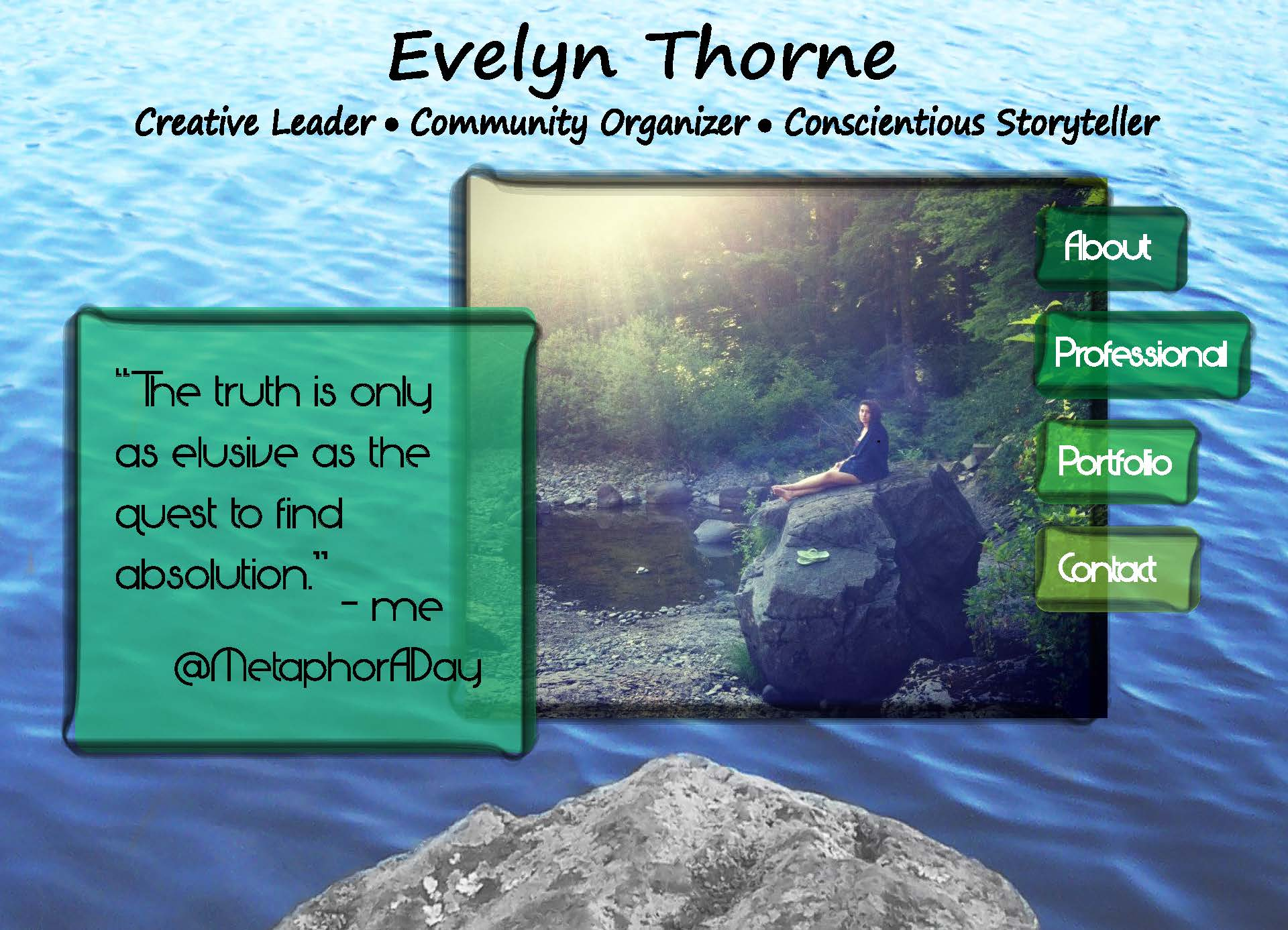 Showcase eportfolio evelyn thorne 39 s eportfolio for E portfolio templates free