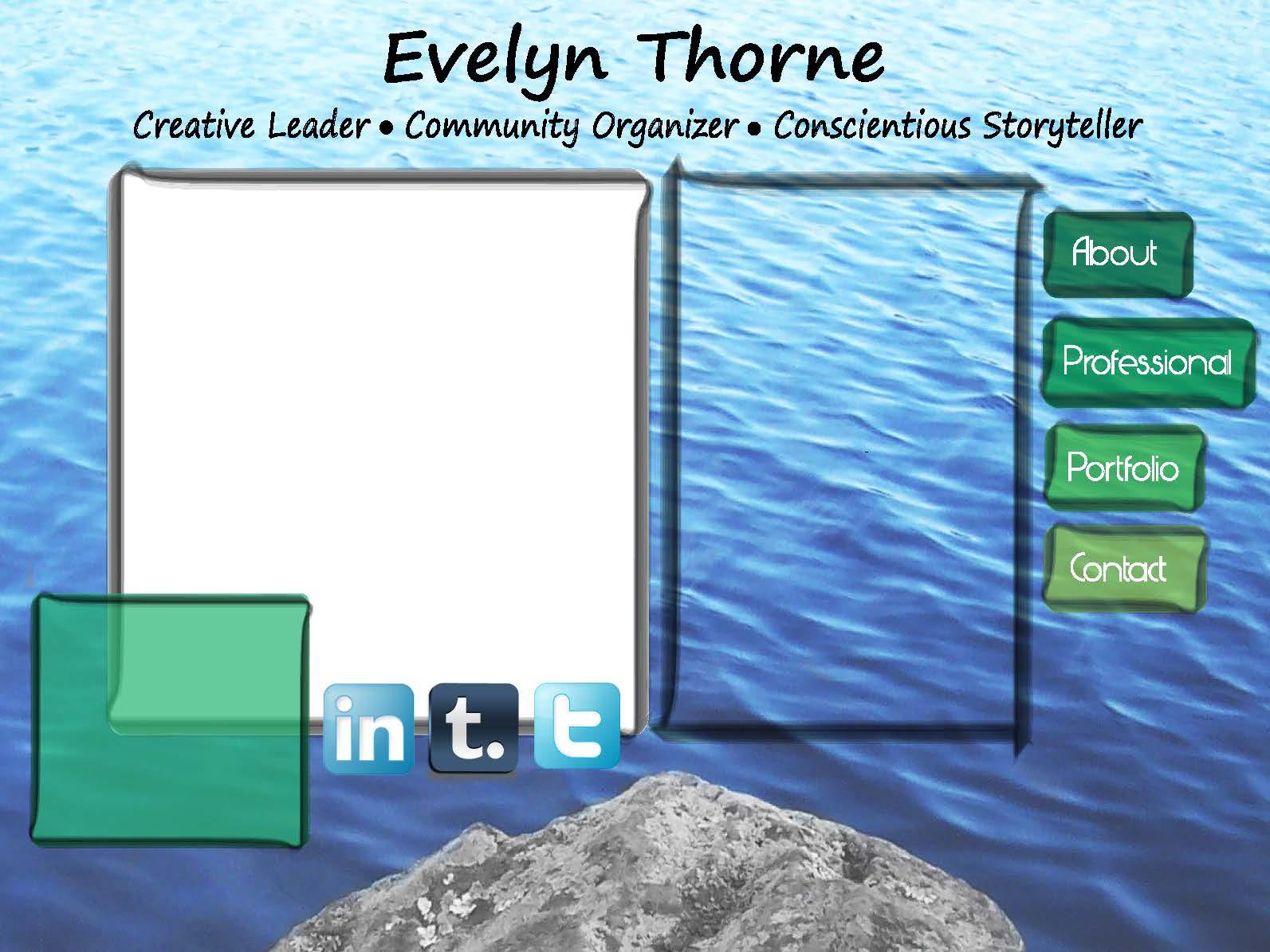 Showcase EPortfolio Project Final Site Template Design Evelyn - E portfolio templates