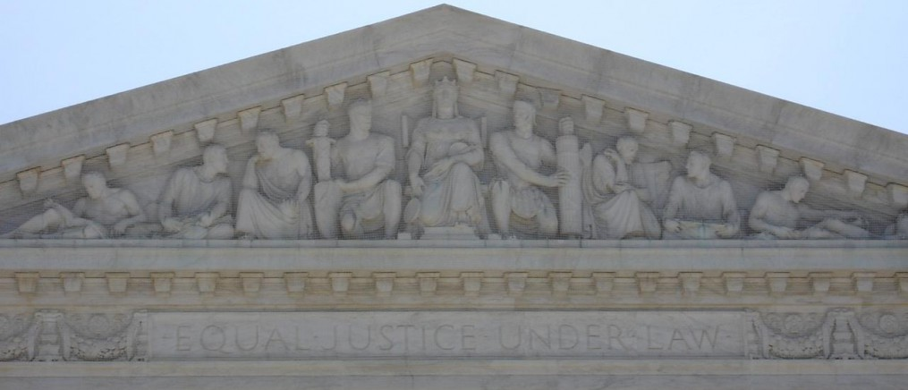 Frieze of the United States Supreme Court building