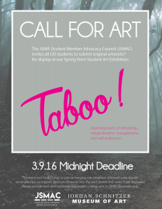 Taboo Call for Art JSMAC