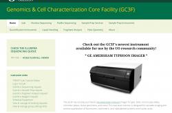 GC3F website screenshot