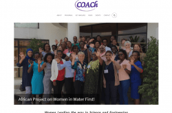 COACh website screenshot