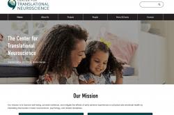 Center for Translational Neuroscience website screenshot