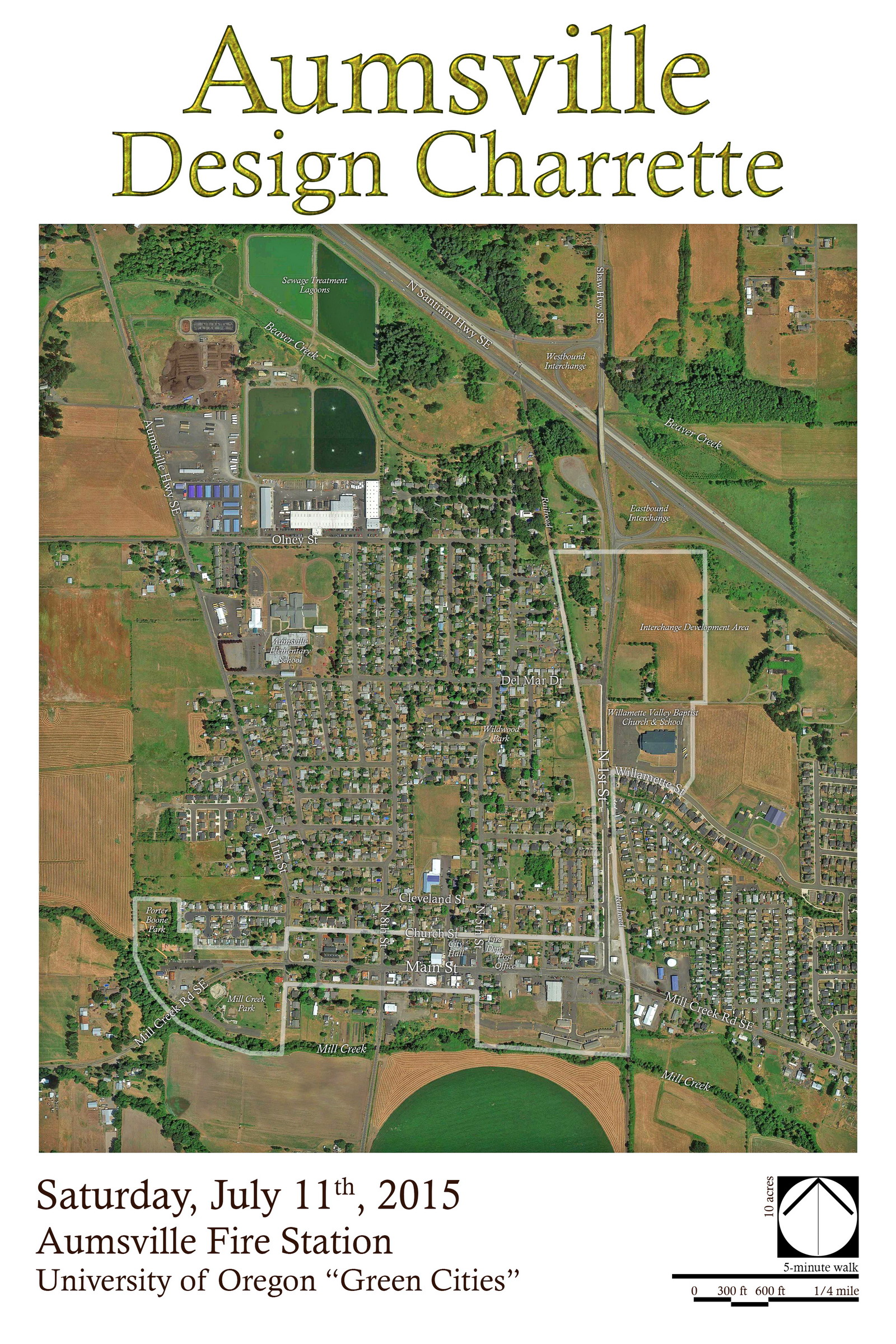 Aumsville Design Charrette Map sm