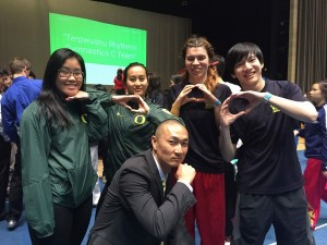 UO Wushu and Brandon Sugiyama