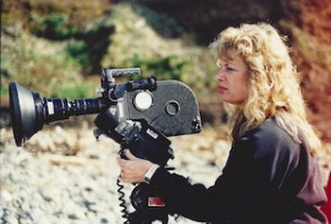 Sharon Sherman with camera