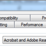 Screen Shot Acrobat Version compatibility