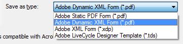 4. Save as a dynamic pdf