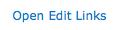 Screen shot of Open Edit Links button