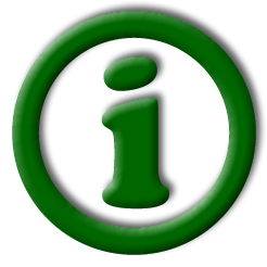 image of an i in circle