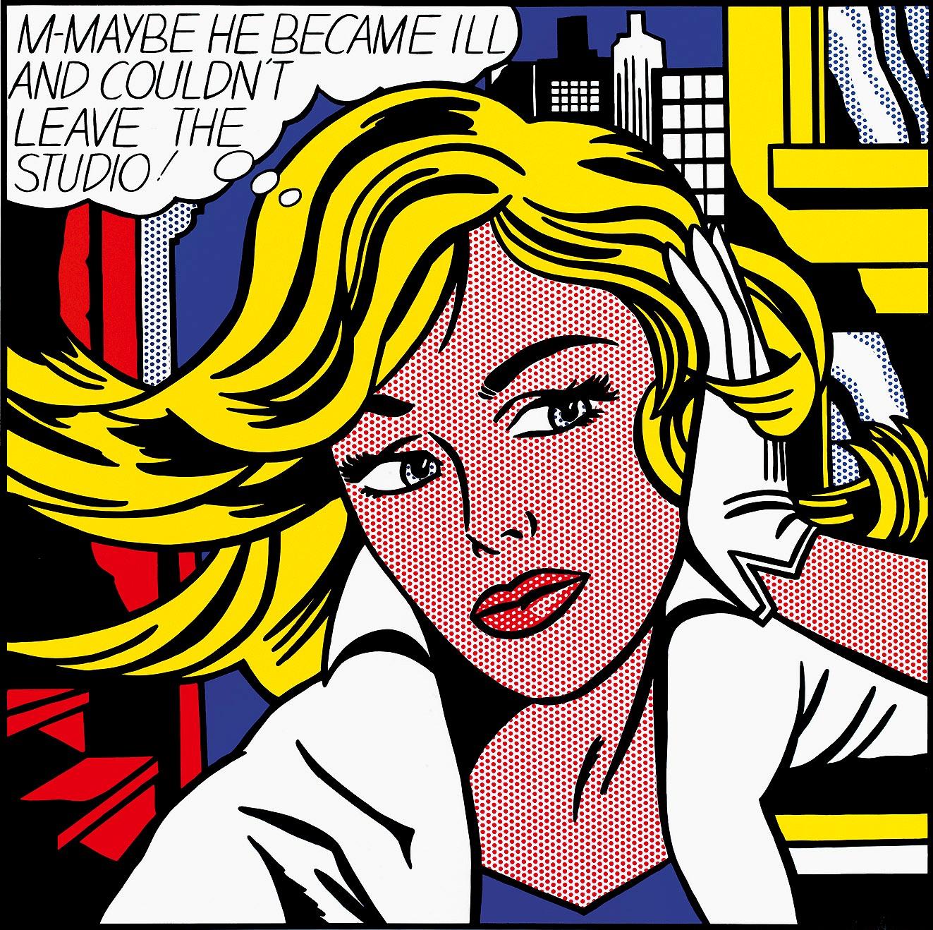 """Résultat de recherche d'images pour """"m-maybe roy lichtenstein"""""""