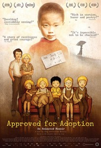 Approved for adoption poster
