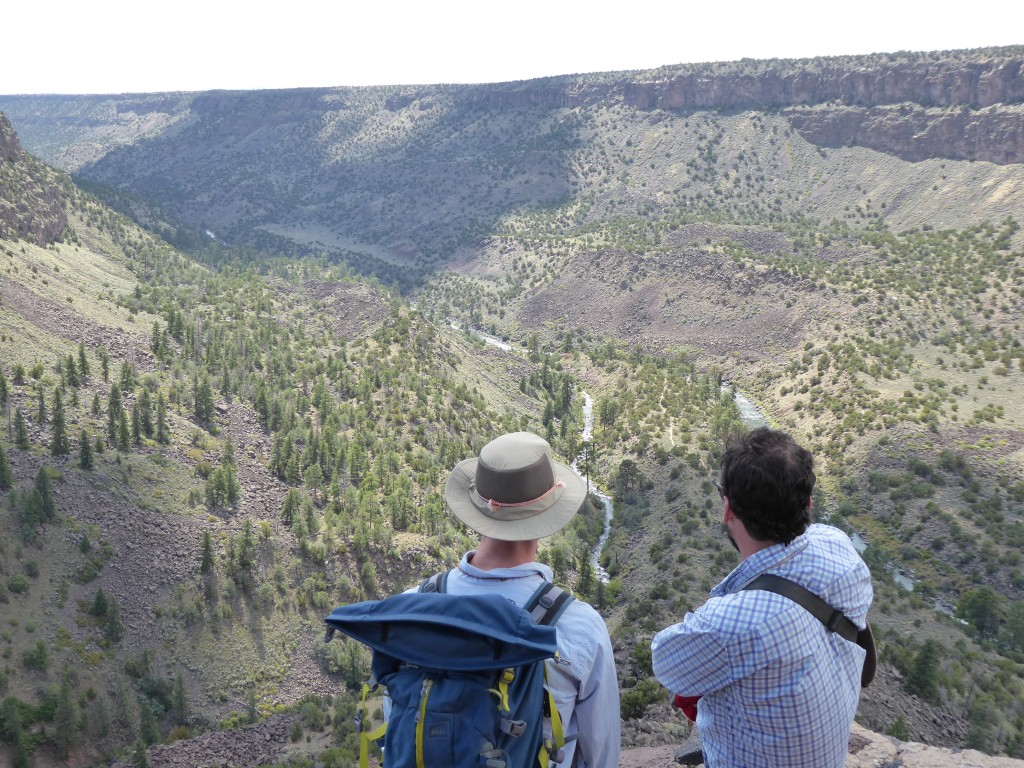 La Junta - A great place for contemplating fluvial and landslide geomorphology