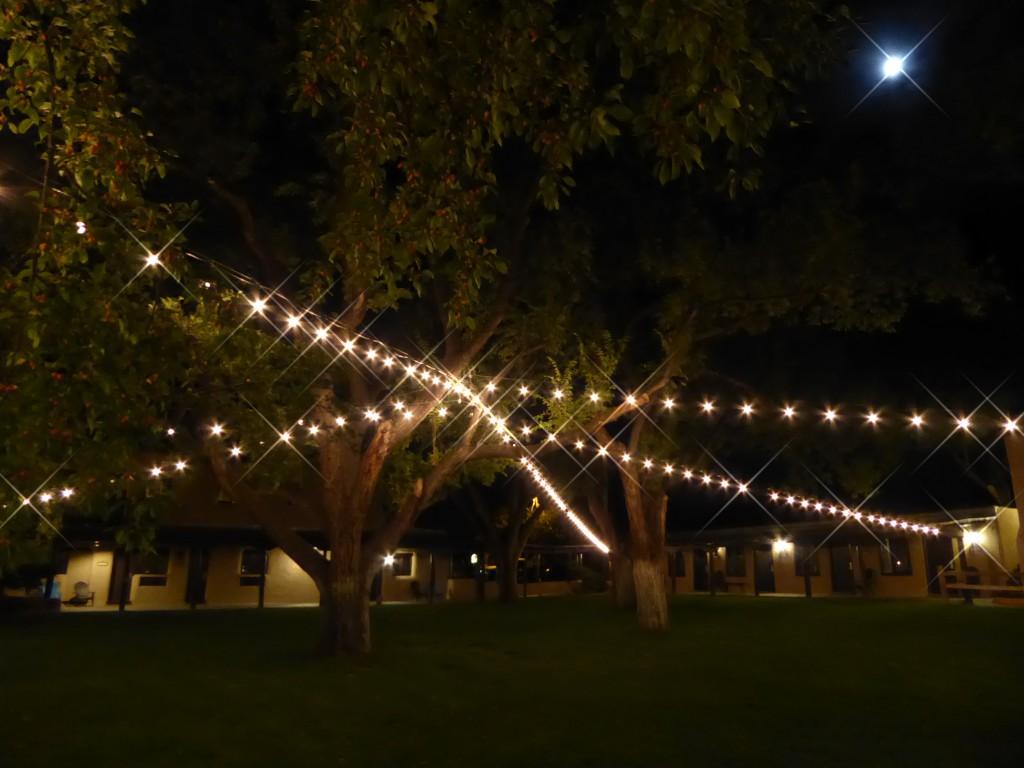 Evening at the Sagebrush, in Taos