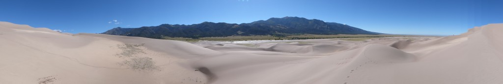 Great Sands and the Sangres in the distance