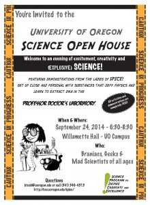 UO_Science_Open_House_Flier _Spanish