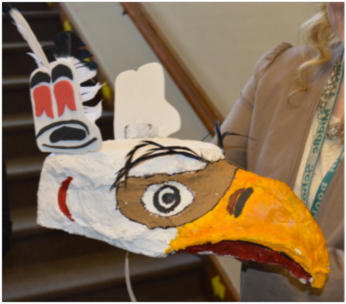A student-made mask