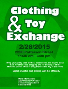 Clothing&Toy Exchange