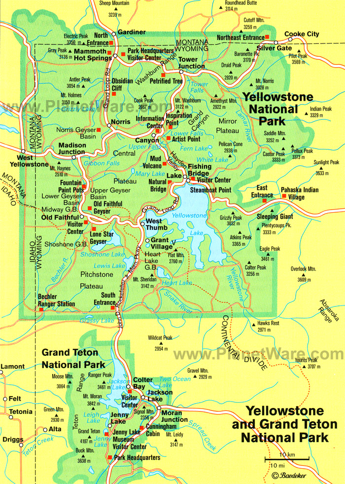 Geography | Yellowstone National Park on