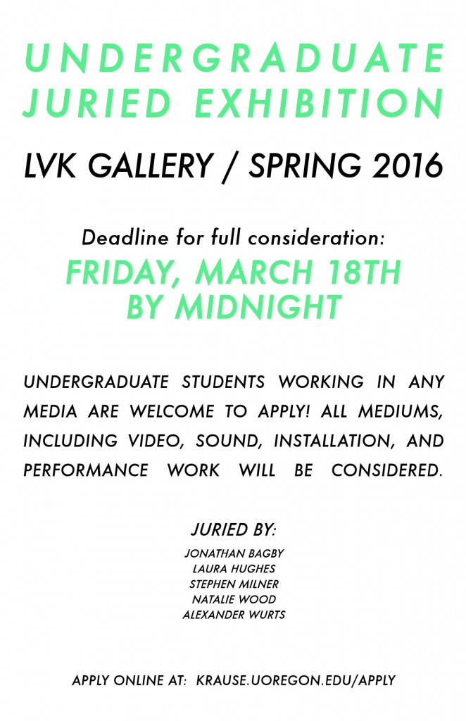 LVK JURIED SHOW POSTER 2016