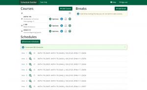 generate-schedules-sample