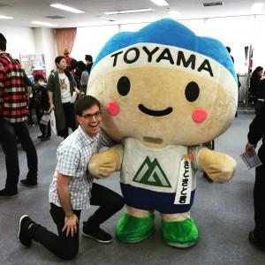 Anthony Rinaldi in Toyama, Japan