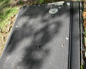 gertrude-bass-warner-gravestone