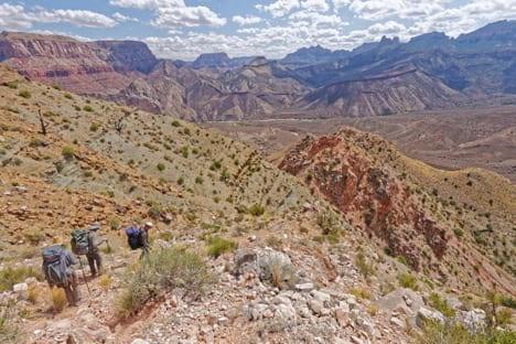 Field study photo, Nankoweap Creek, Arizona