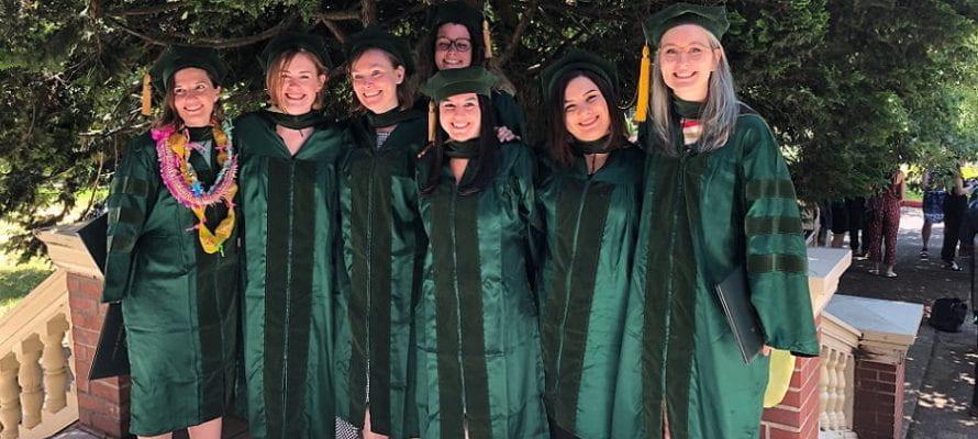 Graduating PhD Class