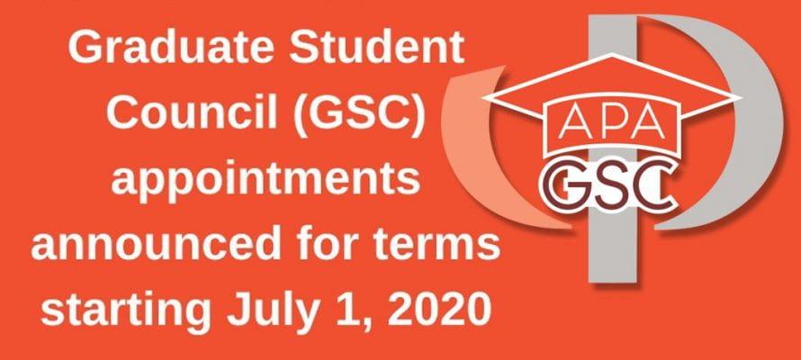 APA Graduate Student Council